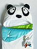 Конверт кокон на выписку Пандочка трехсезонный летний-весенний, фото 4