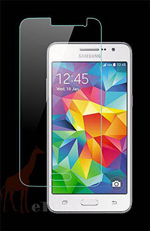 Прозрачная защитная пленка для экранов SAMSUNG Galaxy GRAND Prime 2 шт, фото 2