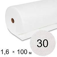 Агроволокно біле 30 uv - 1,6 × 100 м (Гекса)