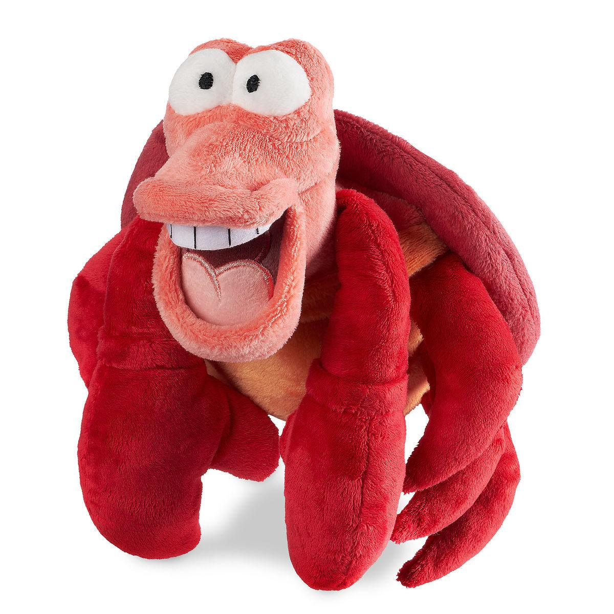 Disney Мягкая игрушка краб Себастьян 18см - Русалочка