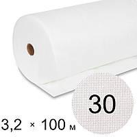Агроволокно біле 30 uv - 3,2 × 100 м (Гекса)