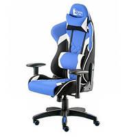 Компьютерное игровое кресло Special4You ExtremeRace 3 black/blue