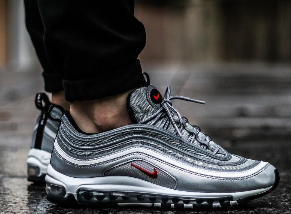 new collection online store new authentic Женские кроссовки Nike Air Max 97 Silver Рефлективные