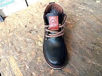 Детские кожаные зимние ботинки, фото 1