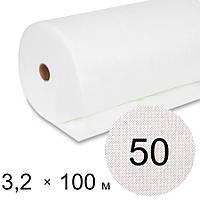 Агроволокно біле 50 uv - 3,2 × 100 м (Гекса)