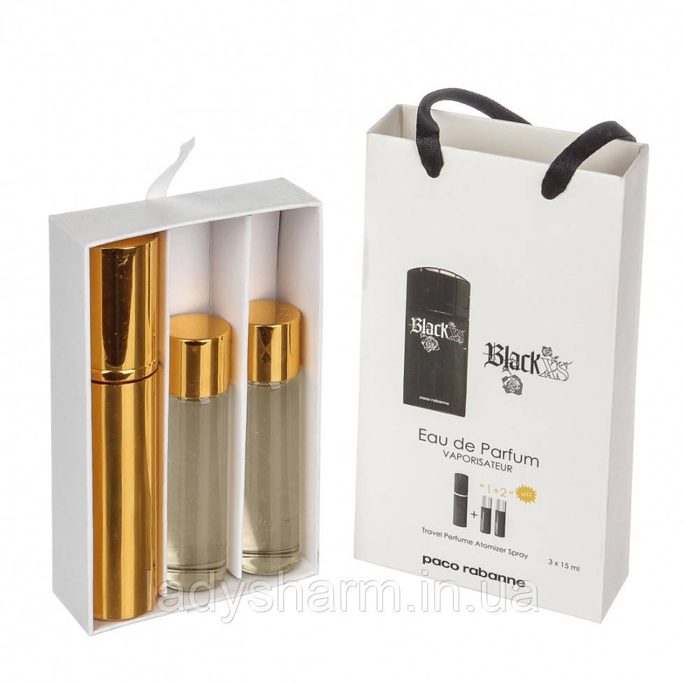 мини парфюм мужской Paco Rabanne Black Xs Homme блэк Xs хом 315
