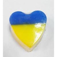Мыло Патриотическое сердце сувенирное Амаранте, 100 гр