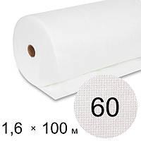 Агроволокно белое 60 uv - 1,6 × 100 м (Гекса)