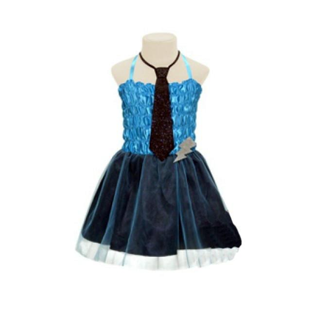Маскарадное платье Монстр Хай синее