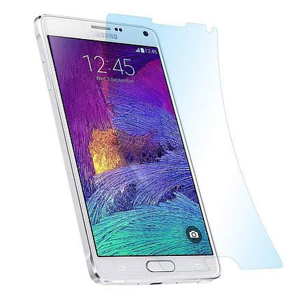 Прозрачная защитная пленка для экранов  SUMSUNG Galaxy Note 4, фото 2