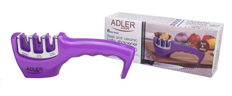 Точилка для керамічний і металевих ножів Adler AD 6710