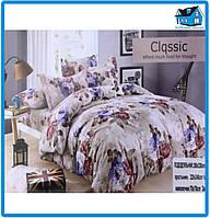 Комплект постельного белья CLASSIC FLOWERS(1.5-полуторный размер)