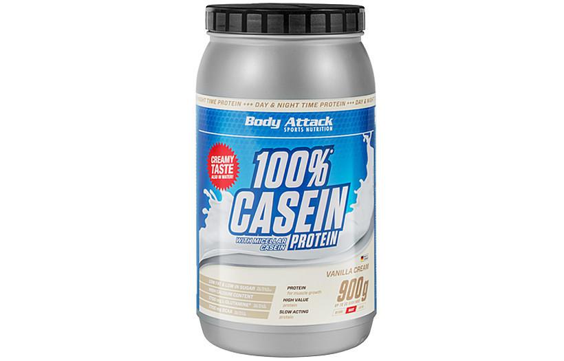 Казеиновый Протеин Body Attack 100% Casein Protein  - 900 g. (ВАНИЛЬ)