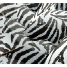 "Трансфер для шоколада ""Чёрно-белая зебра"" 34х28(код 03540)"