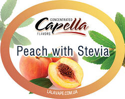 Ароматизатор Capella Peach with Stevia (Персик со Стевией)