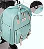 Рюкзак для мам Sunveno Оригинал Deaper Bag. Новейшая модель с огромным функционалом., фото 10