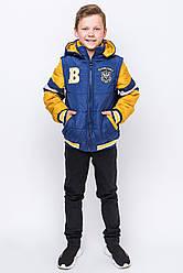 Осенняя куртка жилет на мальчика