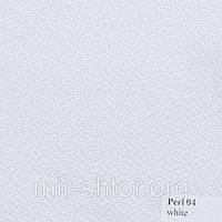 Готовые рулонные шторы 350*1500 Ткань Pearl 04 Белый