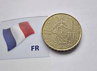 Евромонета 10 евроцентов Франции 1999 год, фото 1