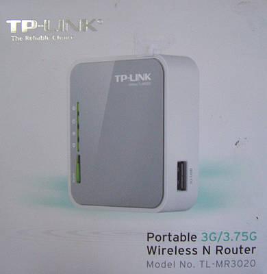 Портативный 3G/4G беспроводной маршрутизатор серии N TL-MR3020