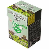 Чай  Akbar Do Ghazal 50g зеленый пирамидками с мятой