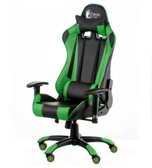 Кресло Special4You ExtremeRace  black/green
