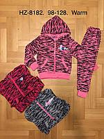 Спортивные костюмы утепленные для девочек оптом, Active Sport, 98-128 рр., фото 1