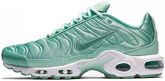 Женские кроссовки Nike Air Max Tn Plus Enamel Green, найк аир макс тн бирюзовые
