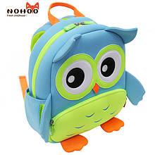 Детский 3D рюкзак Сова Nohoo GY298_2, 7 л голубой