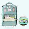 Рюкзак для мам Sunveno Оригинал Deaper Bag. Новейшая модель с огромным функционалом., фото 3