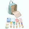 Рюкзак для мам Sunveno Оригинал Deaper Bag. Новейшая модель с огромным функционалом., фото 6
