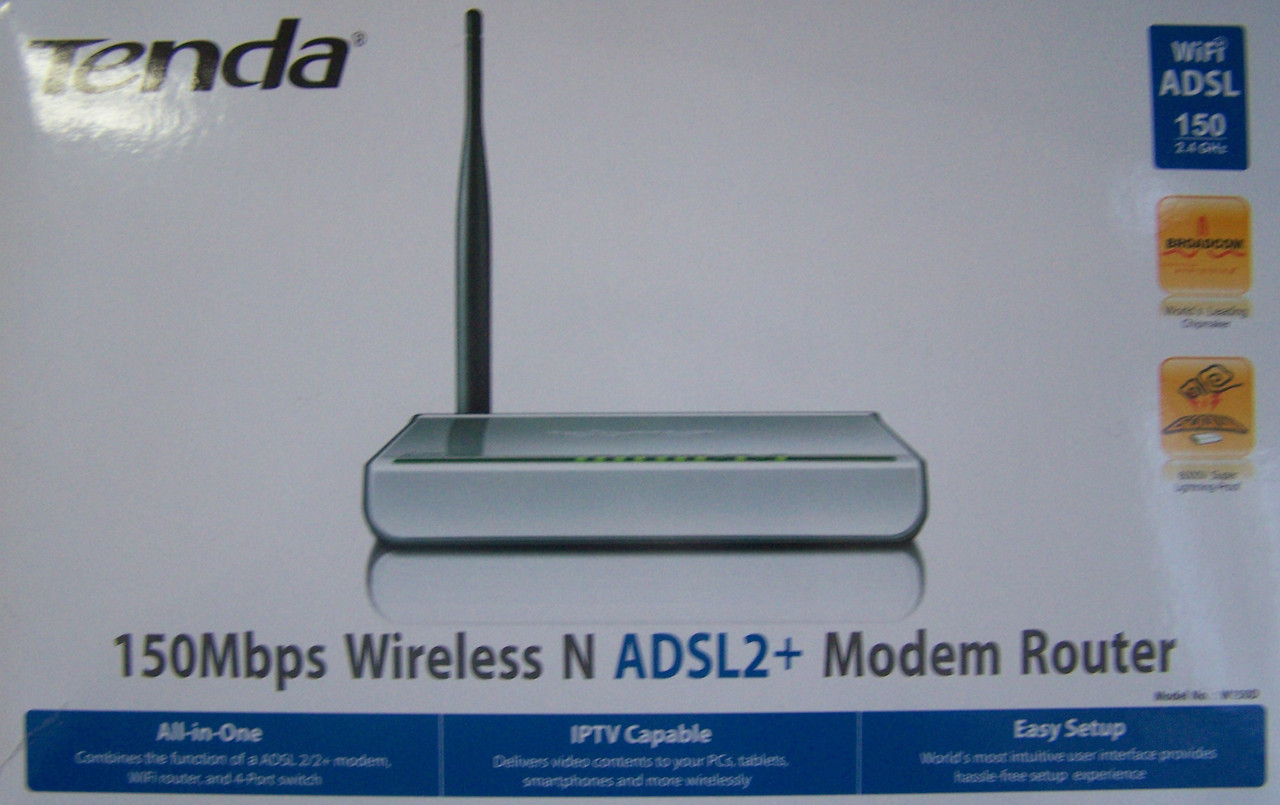 Wi-Fi Маршрутизатор Tenda W150D