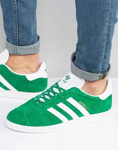 Кроссовки мужские кроссовки Adidas Gazelle Green, адидас газель