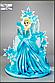 Вафельная картинка холодное сердце Эльза, фото 2