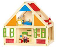 Кукольный домик с мебелью Viga toys (56254), фото 1