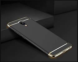Чехол с золотыми вставками для Meizu M5 Note (2 Цвета)
