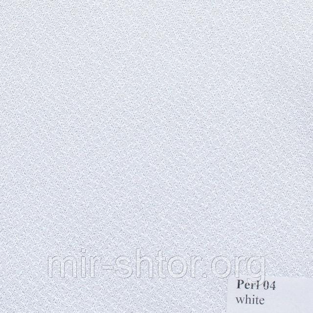 Готовые рулонные шторы 1450*1500 Ткань Pearl 04 Белый