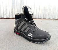 Подростковые кожаные зимние ботинки для мальчиков 36- 39 размер, фото 1