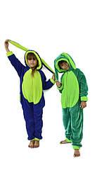 Детские цельные пижамы махровые Кигуруми