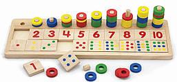 Развивающая игрушка Цифры и счет Viga toys (59072)