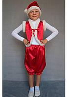 Карнавальный костюм Гномик (красный), фото 1