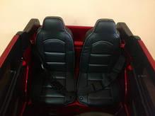 Копия Детский двухместный электромобиль BMW EVA колеса, фото 2