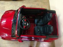 Копия Детский двухместный электромобиль BMW EVA колеса, фото 3