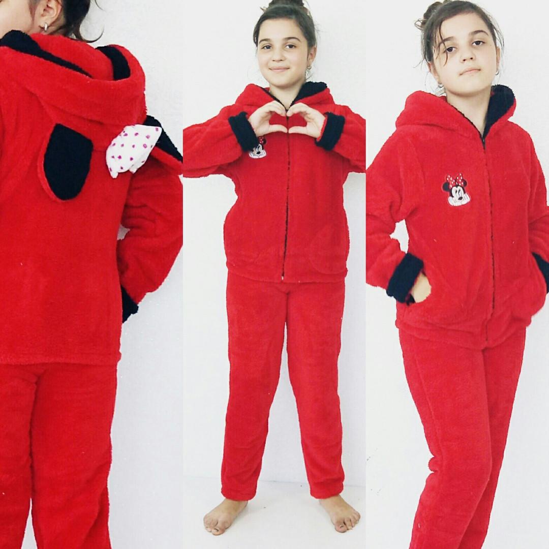 Пижама махровая подросток Минни Маус