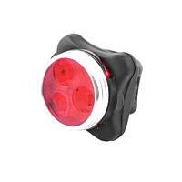 Велосипедный фонарь Luxury HJ-030-3 LED, фонарь аккумуляторный, фото 1
