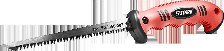 Ножовка по гипсокартону Stark 150 мм (507150007)