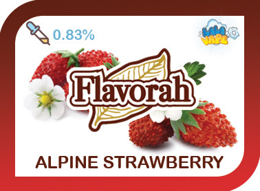 Alpine Strawberry ароматизатор Flavorah (Альпийская клубника)