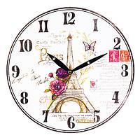 """Настенные часы """"Eiffel Tower"""" (29 см. МДФ), фото 1"""
