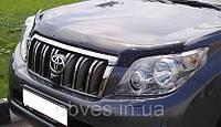 Дефлектор капота (мухобойка) TOYOTA Land Cruiser Pradо 120 с 2003–2009 г.в.