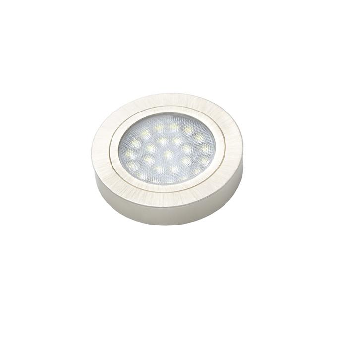 Светильник LED накладной круглый мебельный ROUND DY старая бронза тёплый белый